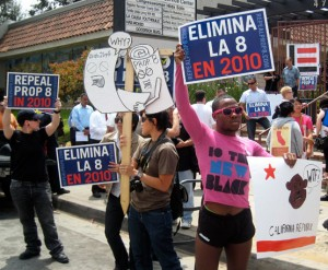 Prop. 8 Protest in East LA